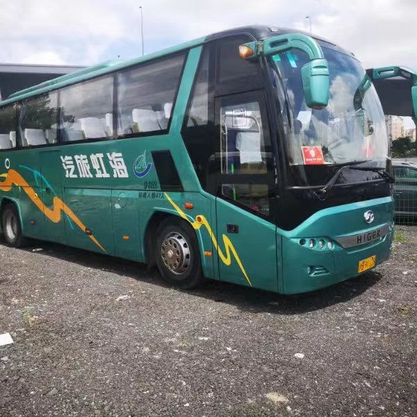 2015 2016 cheap price Used Yutong/Higer/Kongling big bus 50 53 55 seats used school/tour/passenger city bus for sale