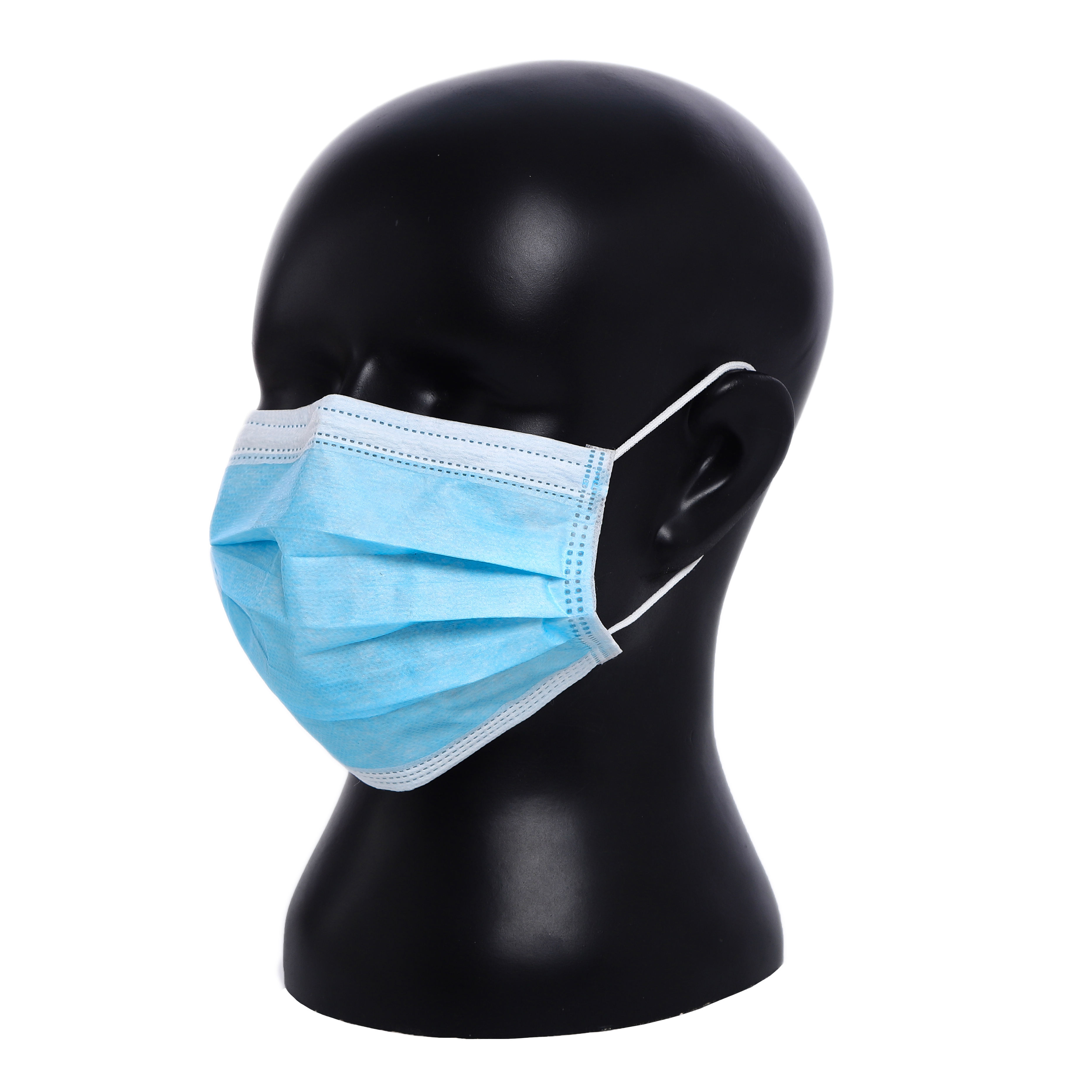 Type IIR Class II Face Protective Mask Non-Woven Disposable Earloop 3 Ply Surgical Mask