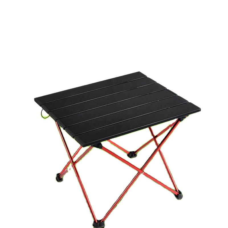 Portable Outdoor BBQ Camping Picnic Folding Table Lightweight Aluminum Alloy Assembly Modern Design Outdoor Tables