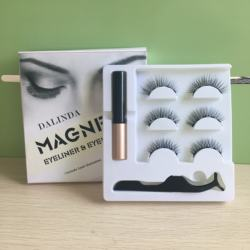 Good quality wholesale Packaging Magnetic Eyelashes for Lady