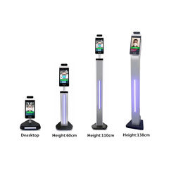 8 inch smart face recognition &IR thermometer body temperatu