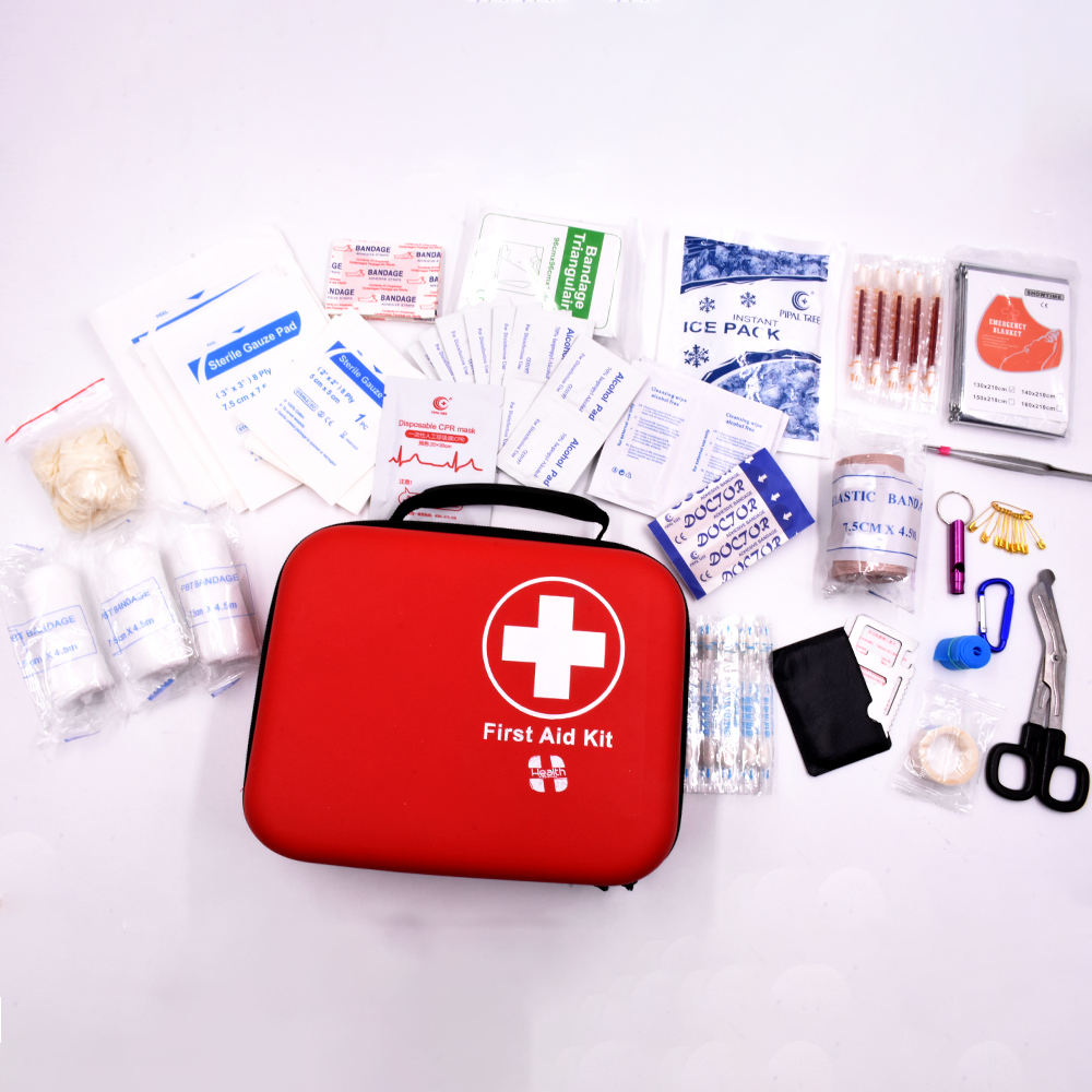 New product first aid kit bag with supplies first aid kit for outdoor survival camping basic first aid kit