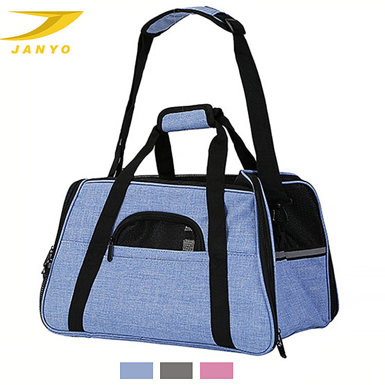 Amazon pet product manufacturers hot sale wholesale outdoor pet travel comfortable safe folding carrier dog bag