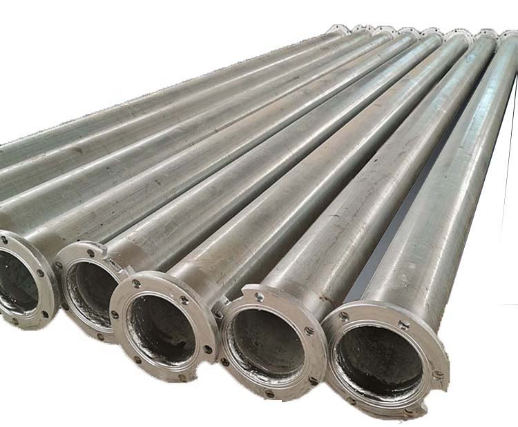 Riser pipe for Submersible pump with flange ends