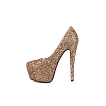 High Thin Heel Women Pumps Summer Platform ODE/OEM Dress Party Ladies Shoes