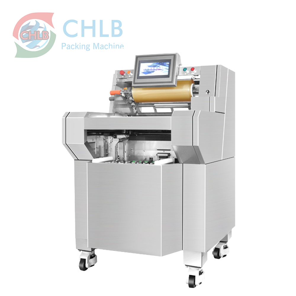 Automatic horizontal stretch cling film wrapping machine horizontal succade wrapping machine
