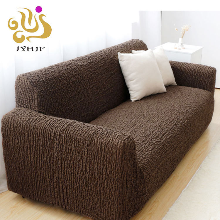 Waterproof Dust Proof Spandex Stretch Sofa Cover Couch Cover for 2 3 Seaters Elastic Sofa