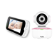 Portable 5 inch Audio Video Night Vision Wifi Nanit Baby Monitor with Optional Two cameras
