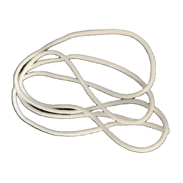 Latest china new model multi-function 3mm round earloop elastic webbing