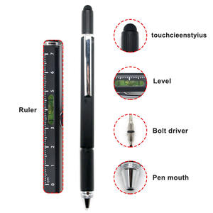 Multi-function pen engineer tool pen ballpoint with touch screen handwriting