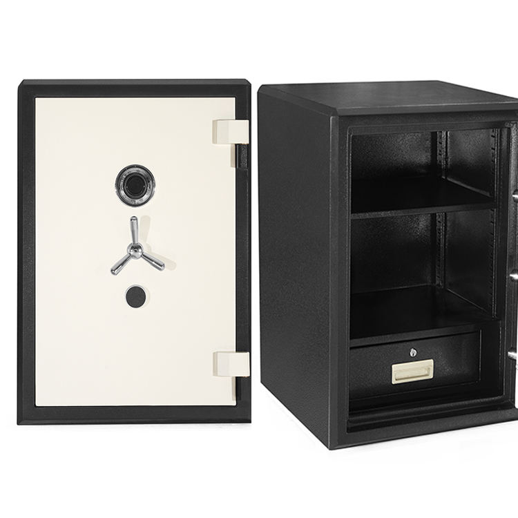 fire resistant box safe sentry lock High Quality Security Black Steel home cabinet fireproof safe box