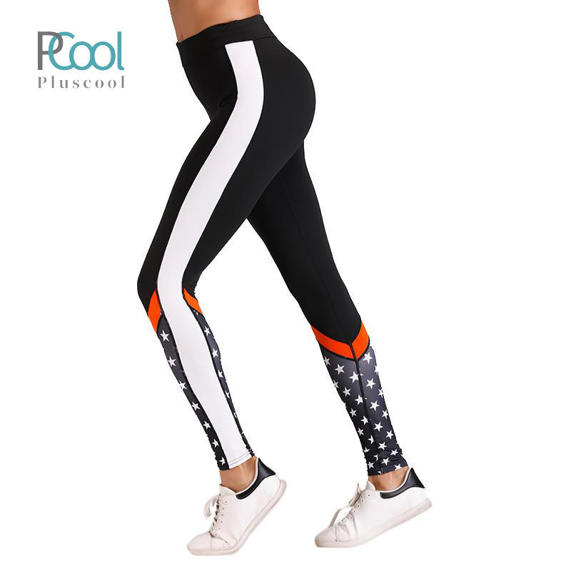 Sport Leggings Gym Clothes Custom Women Polyester Yoga Tights Running Trousers Fitness Clothing