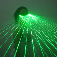 Hot Sales Green Laserman Show Eyewear Green Light LED Laser Glasses for Dancing Stage Show DJ Club Party Performance