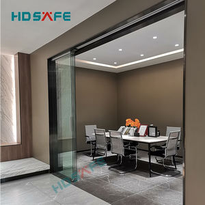 modern single 3 panel sliding glass door accessories for office