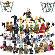 Star Han Solo Chewbacca The Rise of Skywalker mini action figures Pong Krell legoes mini Building Blocks wars  Block