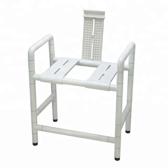 acero inoxidable 304 y Nylon sanitario producto de alta capacidad de carga de baño uso ducha ancianos discapacitados baño silla