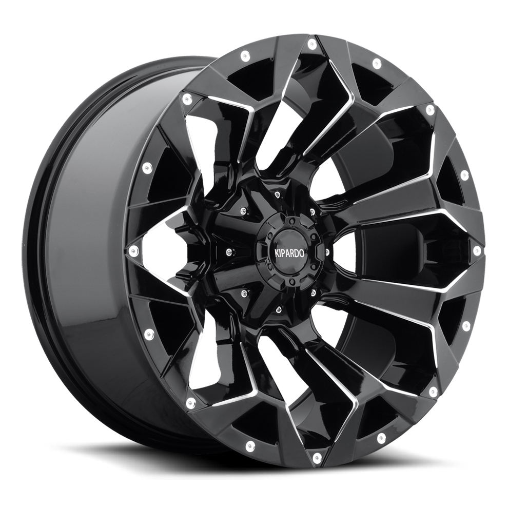 car aluminum alloy wheel 16x8.0J for 4X4 car
