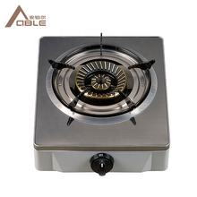 ABLE Single Burner Gas Stove Table Top Gas Stove Stainless Steel Cooker
