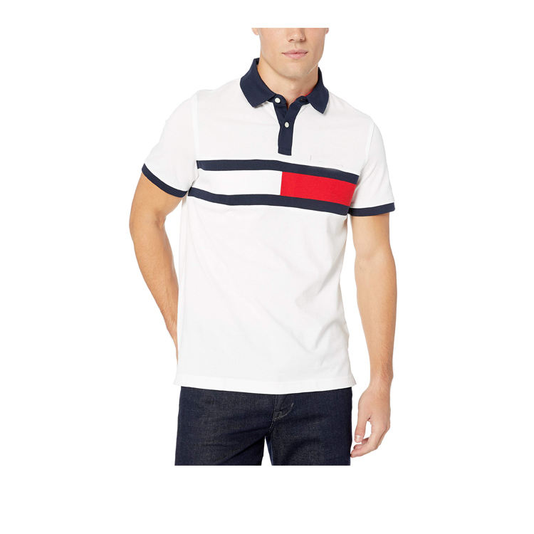 Fabrik Großhandel sublimation dry fit sport plain polo shirt männer polo t shirts 100% baumwolle weiß golf shirts