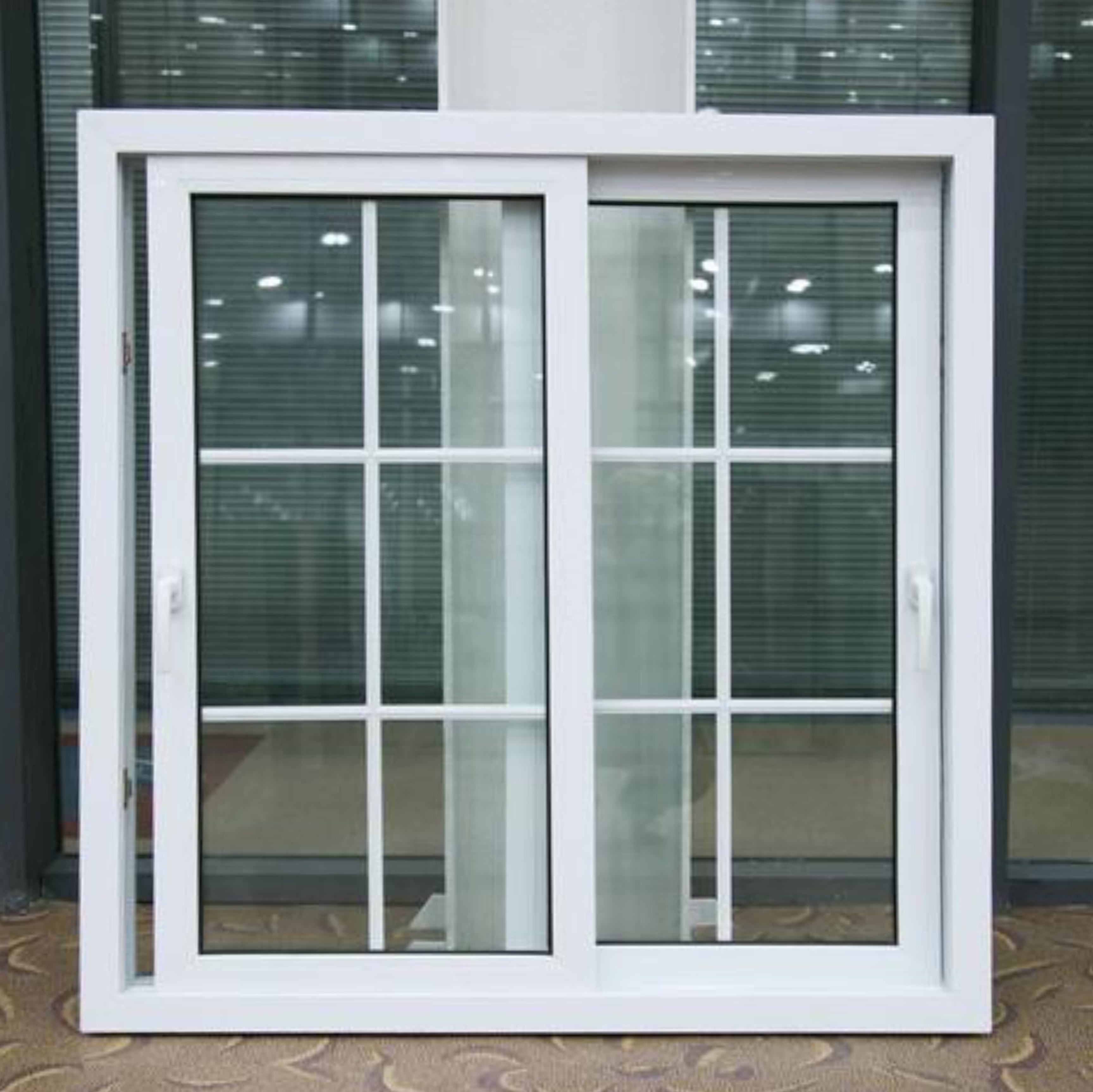 Used Commercial Glass Doors Aluminum Frame Fixed Big Window