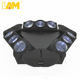 Factory Wholesales Rgbw 4in1 9 Eyes 12w Spider Moving Head Led Beam Light For Club Dj