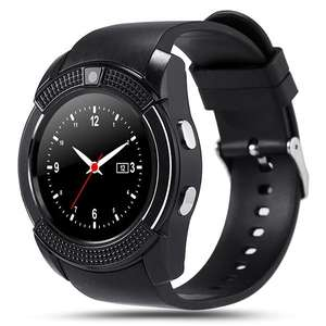 V8 smart band watch Touch Screen with Camera SIM Card Slot Waterproof smart fitness watch for men