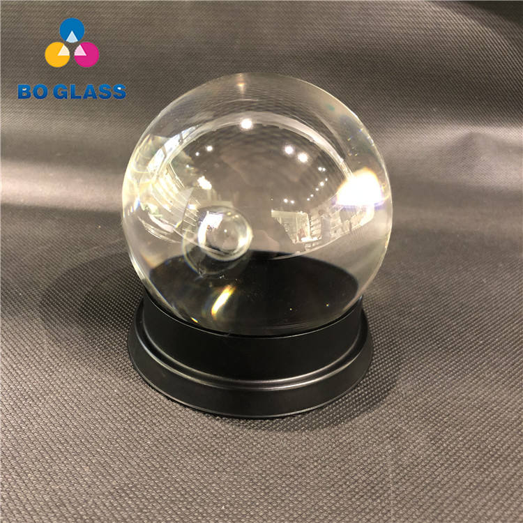 Custom Decorative Hanging Clear Glass Craft Crystal Ball