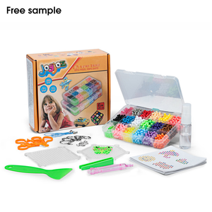 Educational Toys 3d Diy Art 24 Colored Water Magic Beads Set Puzzle Plastic Spray Magic Water Beads for Kids