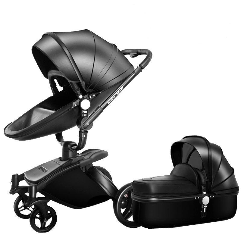 EN1888 bán buôn bé vận chuyển chất lượng tốt giá rẻ giá xe đẩy em bé thiết kế mới đen màu châu âu xe đẩy em bé
