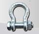 Hot dip galvanized G2130 Bow Shackle With Nut and Safety Pin