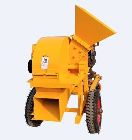 High efficiency mushroom garden wood grinder sawdust crusher bamboo 420 model wood crusher machine