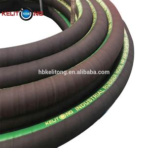 On Sale air water oil sandblast chemical food grade suction   discharge flexible hose industrial rubber hose composite hose