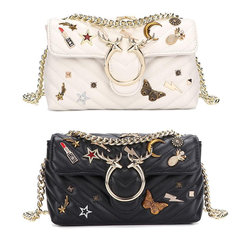 llegada americano Vintage Navidad <span class=keywords><strong>mariposa</strong></span> decorado famoso de la marca de lujo de las mujeres damas diseñador de bolsos de mano