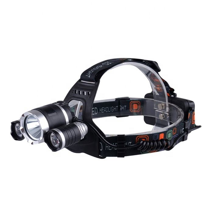 High Power Long Range Rechargeable Headlamp Laser Waterproof Bike LED Head Torch