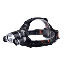 High Power Led Long Range Rechargeable Headlamp, Waterproof Hunting Headlight Head Flashlight Torch Bike Laser Led Headlamp