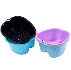 Factory Wholesale Foot Bath Massage Plastic Foot Soaking Bath Spa Basin Thickened And Raised