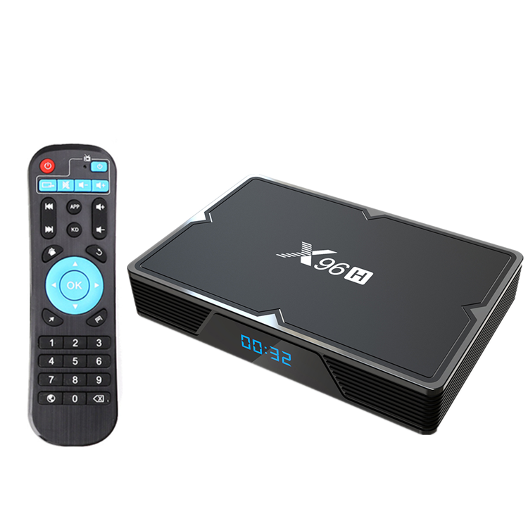 X96H 4gb 64gb Android Tv Box 9.0 Smart TVBox Allwinner H6 H603 2.4G/5Ghz Wifi BT 6K H.265 4GB 32GB X96 Media Player Set Top Box