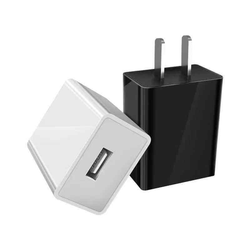 High quality US mobile phone charger wall mount adapter dual USB original travel smart mini home wall charger adapter