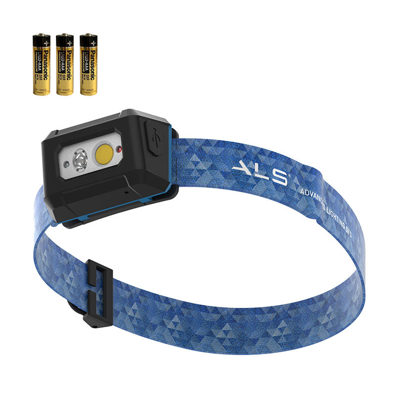ALS 300lm COB LED Headlamp with wholesale price Super-bright AAA battery Work light Outdoors Mountain headlight Free Sample
