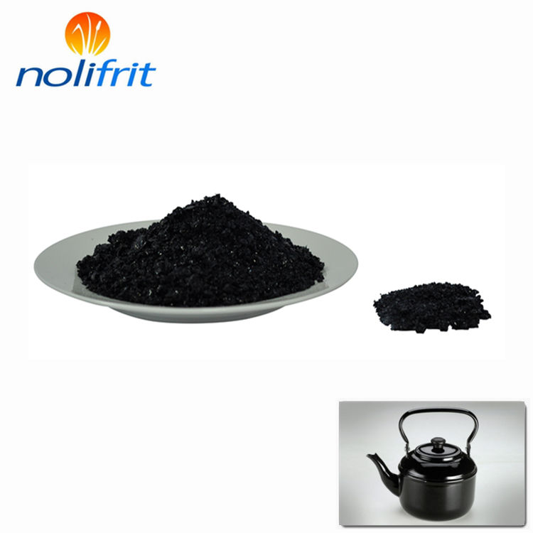 China enamel ground coating frits porcelain compound direct on frit for BBQ/cup/signage/cookware/panel