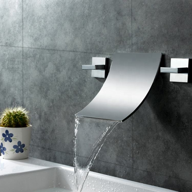 Modern chrome hot cold water mixer tap,Best Quality basin washer mixer,Deck Mount bathroom taps