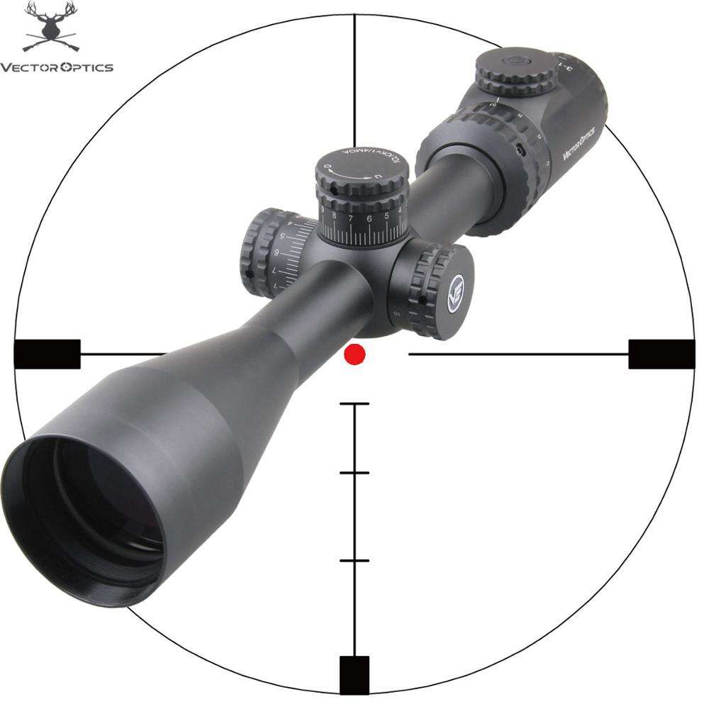 Vector Optics Hugo 3-12x44 GT Premium .22 Air Rifle Scope for 4.5MM 5.5MM Pellet 350 Magnum Hunting Shooting