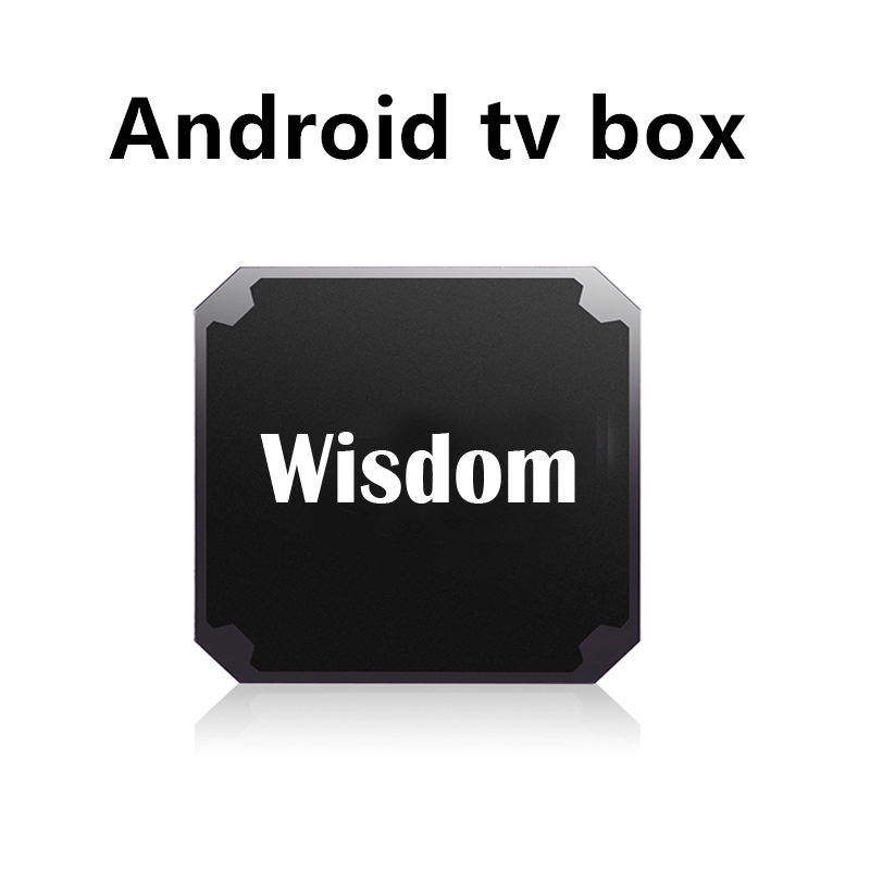 Wisdom android TV Box supports iptv box with m3u smart tv enigma2 pc linux