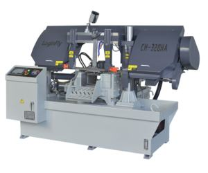 China Loginfly CE cnc band saw machine for metal cutting