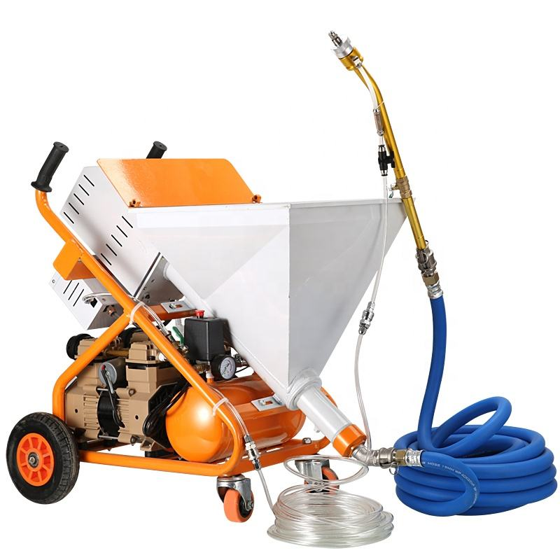 Screw putty injection concrete cement spray mortar pump grouting spraying machine