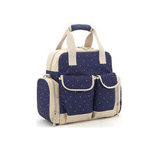 fashion hot sale multifunction mummy handbag baby diaper bag backpack