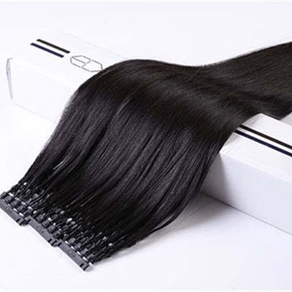 Wholesale cheap 6D hair body wave remy human hair extensions
