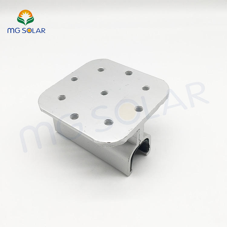 Solar Steel Grounding Clip Conductive Compounds