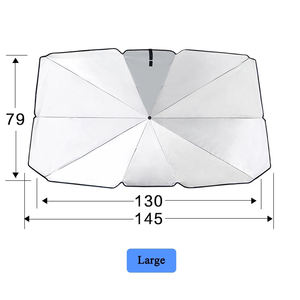 2020 new arrival universal Car Parasol Front Window Sunshade Covers Car Sun Protector Interior Windshield UV Protection