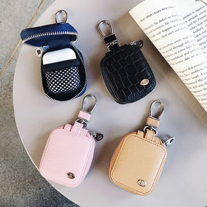 Snakeskin pattern bag earphone cover for bluetooth airpod